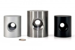 CNC / MILLING / Machining parts Material Aluminium / Steel (Flanges, Bushings, Nuts, Trapezoid thread parts)